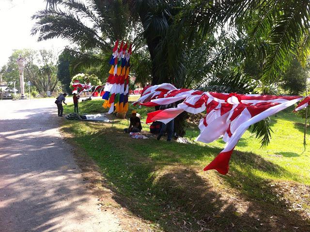 Jelang HUT RI, Penjual Bendera Mulai Marak