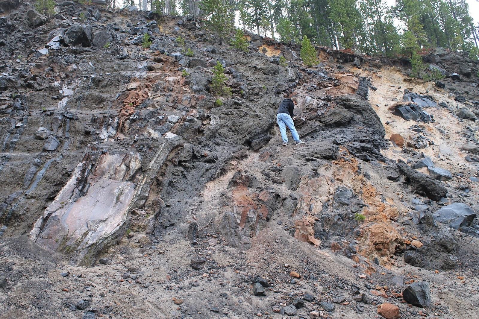 mesa falls island park yellowstone idaho geology travel fieldtrip rocdoctravel.com