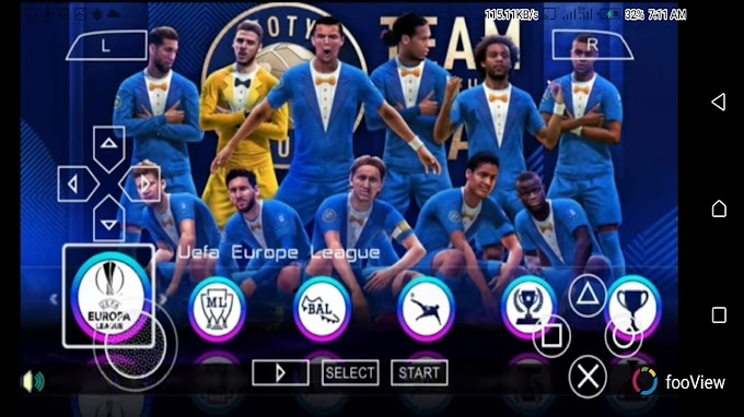Updated: Download New PES 2020 Iso File For PPSSPP - English