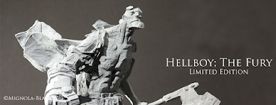 Hellboy The Fury Limited Edition Sculpture by Andrea Blasich x Mike Mignola