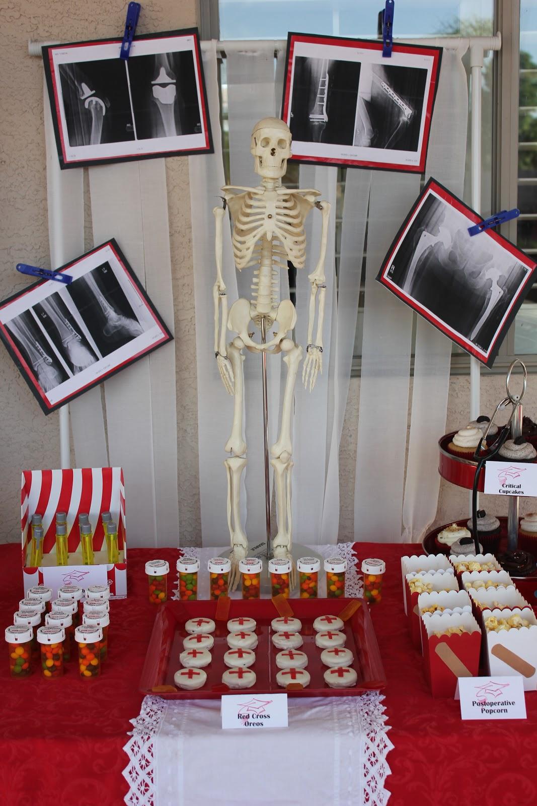 Nursing Party Food Ideas