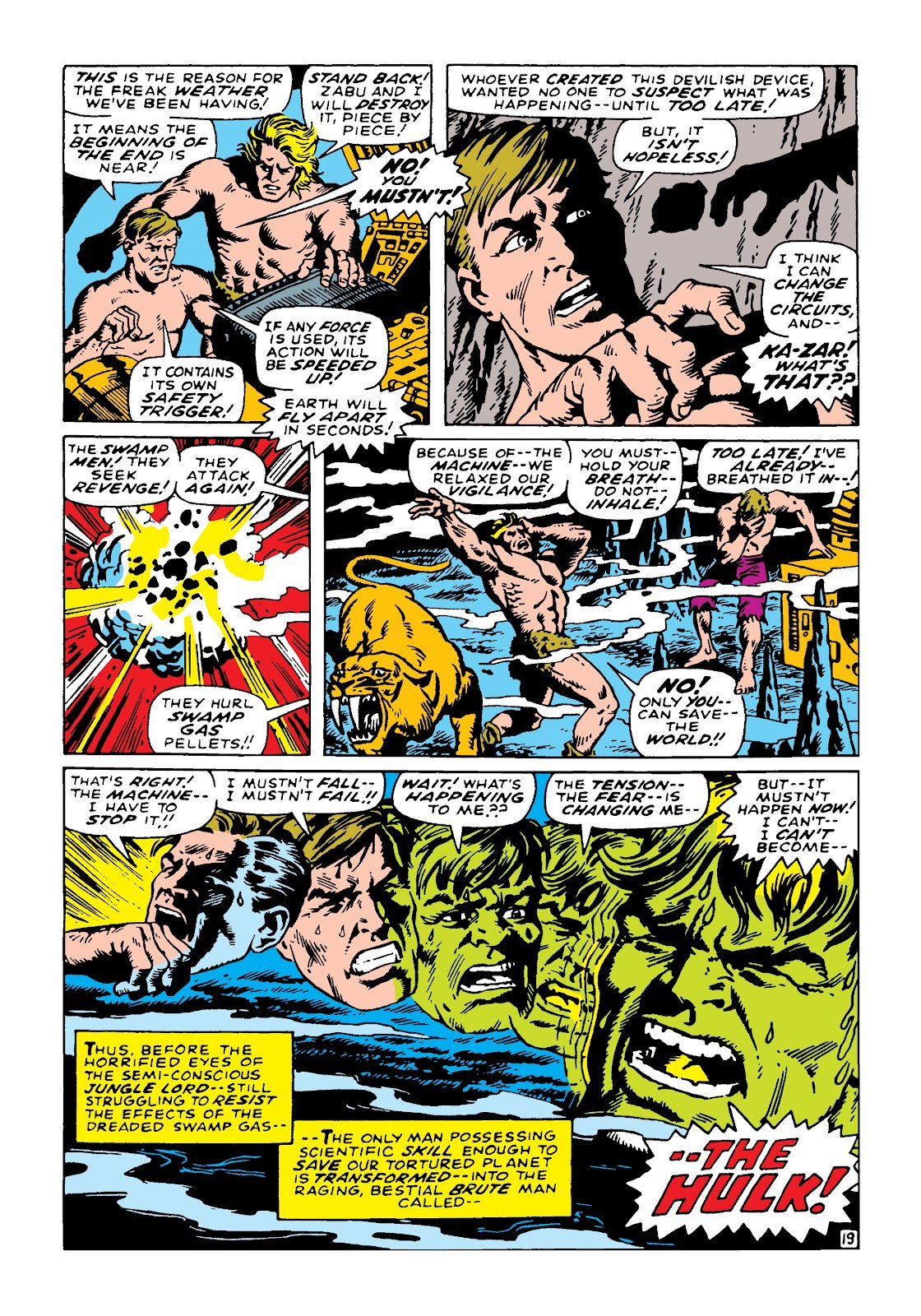 Read online Marvel Masterworks: The Incredible Hulk comic -  Issue # TPB 4 (Part 3) - 5
