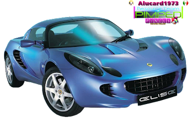 PNG- Coche Azul