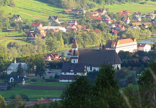 Tylmanowa - kościół.