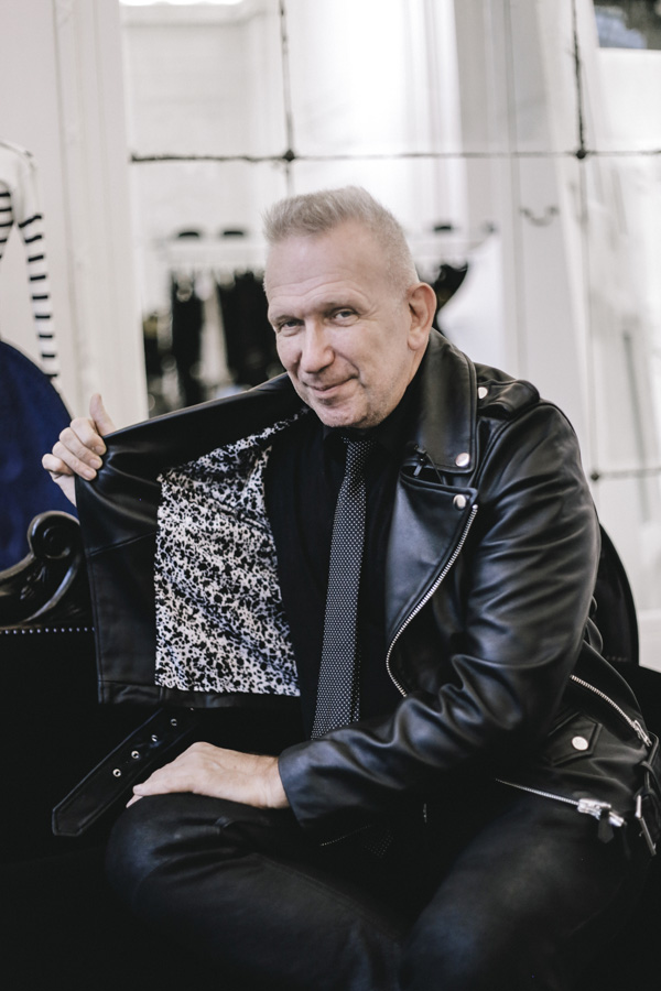 Jean Paul Gaultier  photographed by Guillaume de Sardes