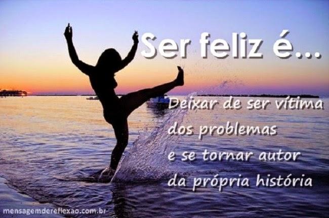 viver feliz