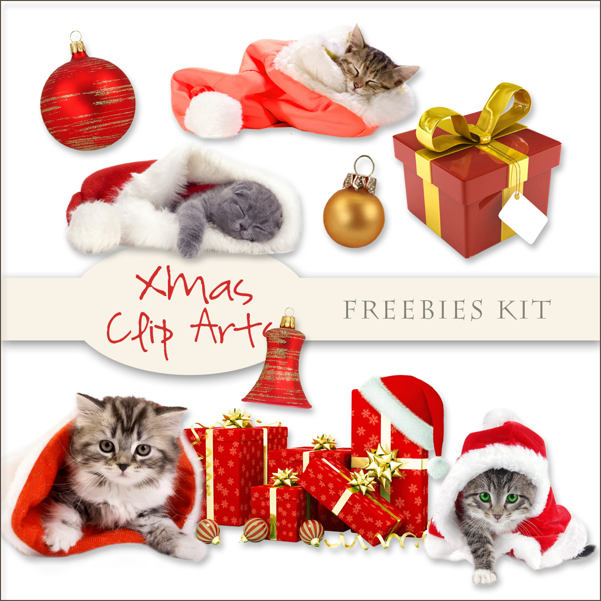 iNeed Files Collection: Merry Christmas, Xmas Clip Art