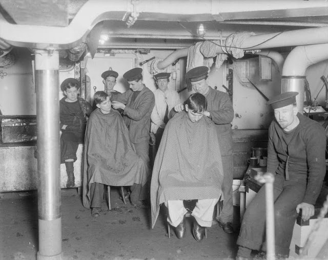The Passion of Former Days Wartime Barbering