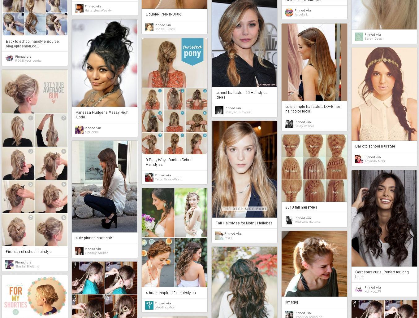 Awe Inspiring Beautiful Hairstyles For Short Hair School Short Hair Fashions Hairstyles For Women Draintrainus
