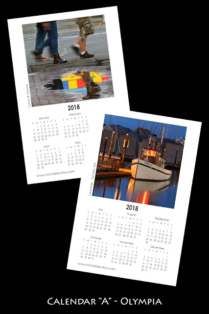 2018 photo calendars Michele Burton