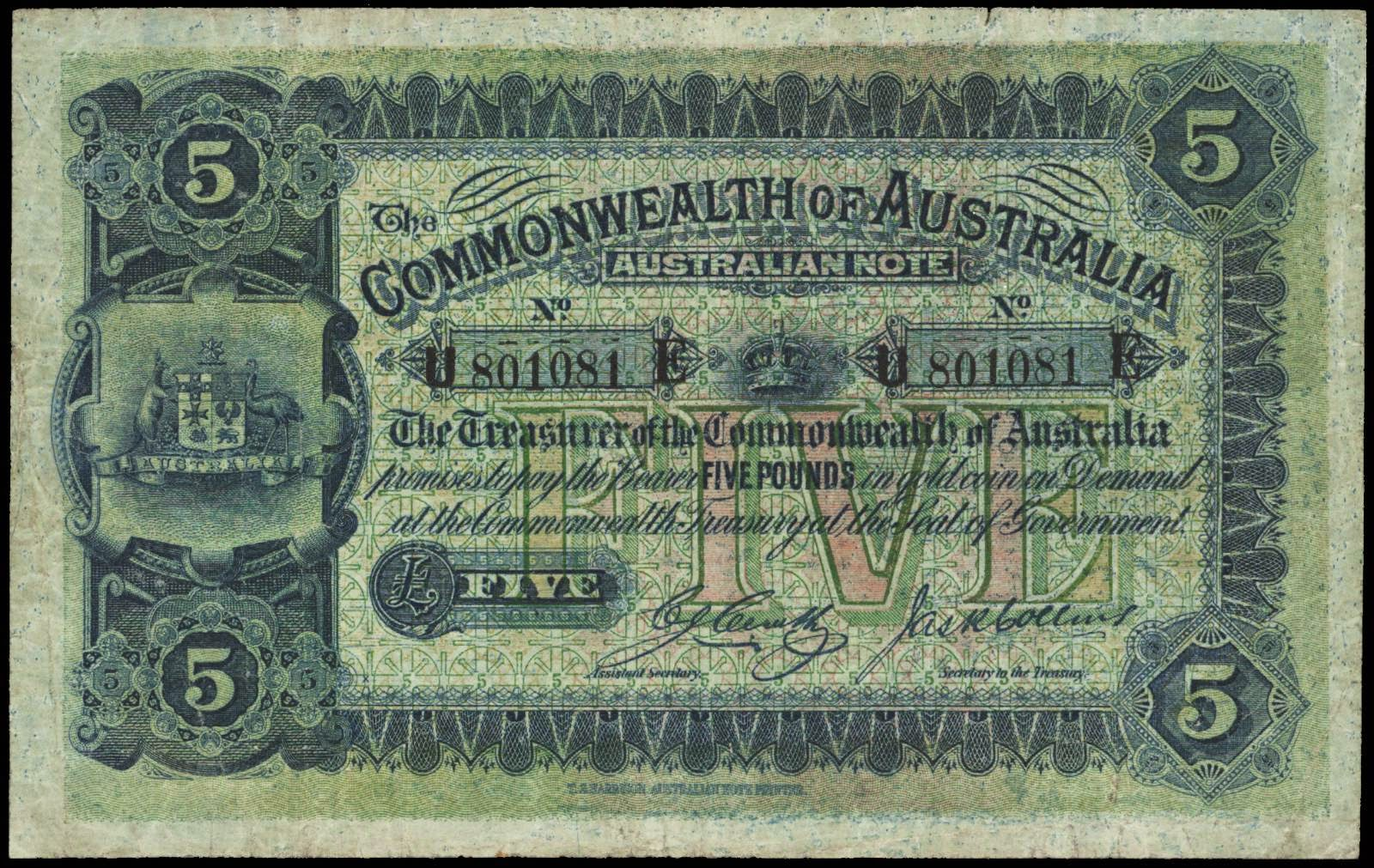 Old Foreign Currency 79