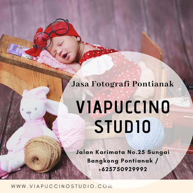 Jasa Fotografi Pontianak: Viapuccino Studio Tempat Kamu Mengabadikan Moment Berharga