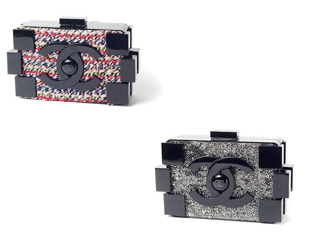 CHANEL BAGS REPLICA: 2013 Chanel Lego Clutch Bag