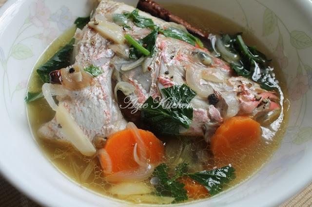 Sup Ikan Merah Sedap
