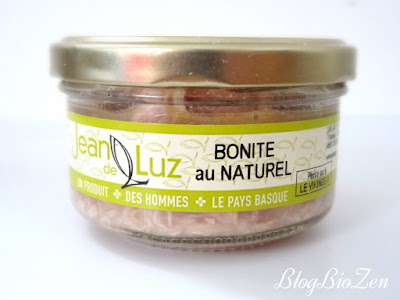 filet de bonite au naturel - Conserverie artisanale Jean de Luz