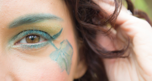 maquillage yeux verte emeraude msc