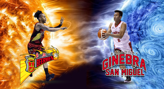 List of last 18 matches between SMB and Brgy. Ginebra