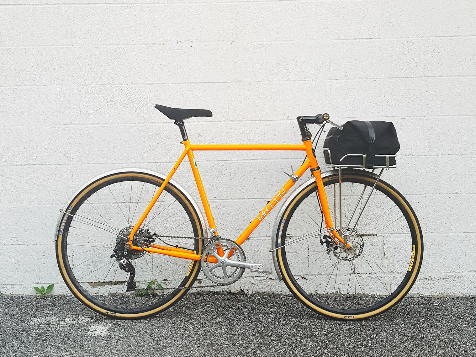 The Velo ORANGE Blog: Dia-Compe Shifters on 11 speeds and Dynasys