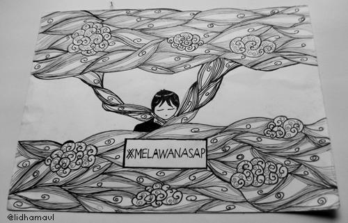 Sketch and Drawing karya Lidha Maul