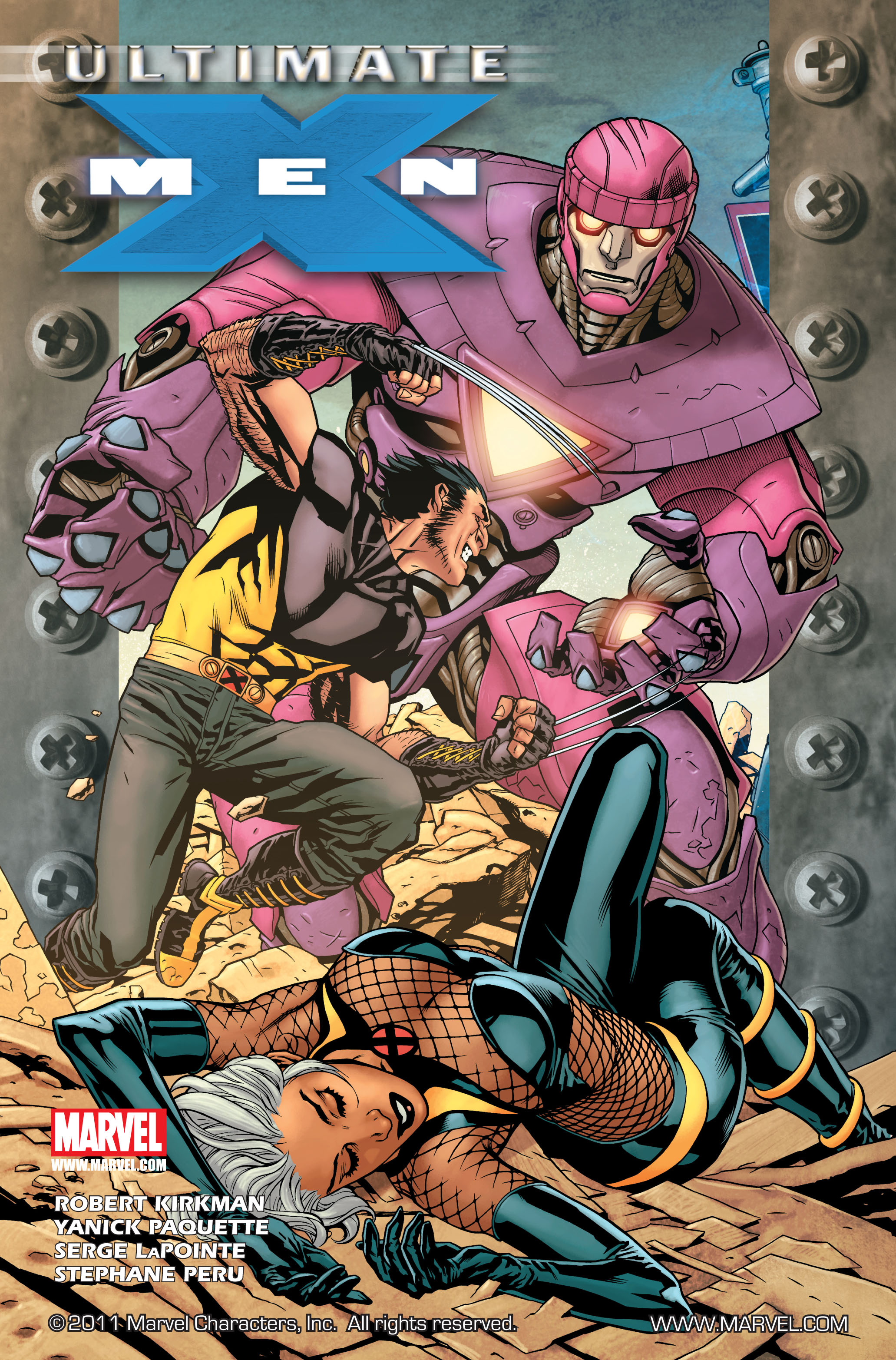 Read online Ultimate X-Men comic -  Issue #85 - 1
