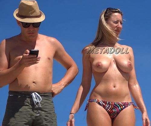 Hot ass bikini girls topless at the beach voyeur (NudeBeach sb15098-15104)