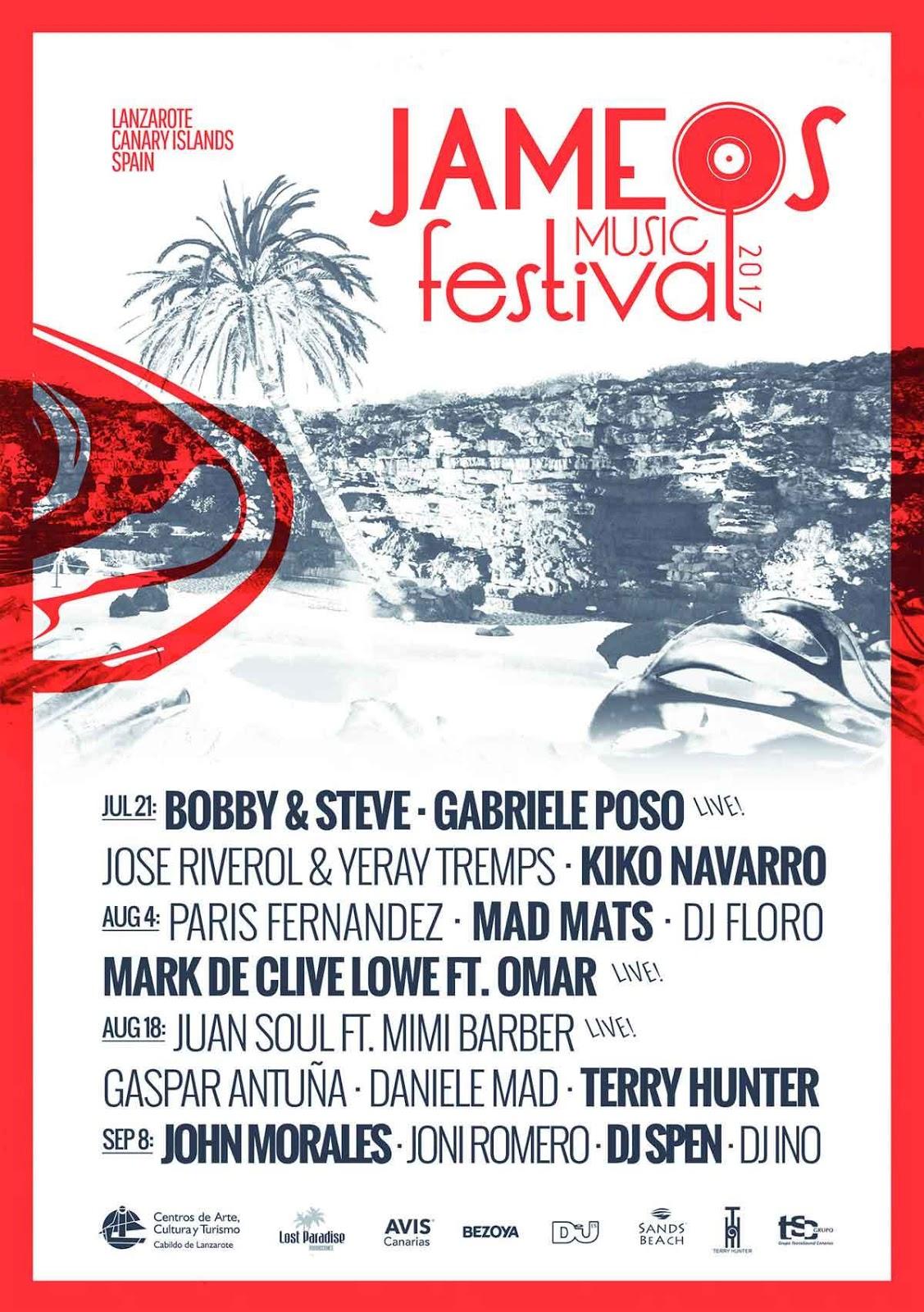 Enlace Funk Recomienda Jameos Music Festival Lanzarote