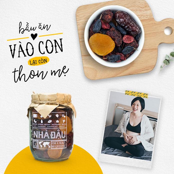 [A36] Combo ăn vặt hoàn hảo giúp Mẹ Bầu thiếu chất bổ sung dinh dưỡng