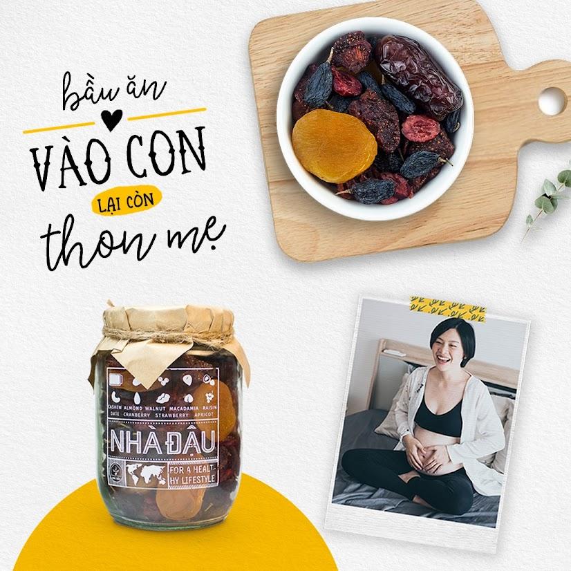 Combo ăn vặt giúp Mẹ Bầu tháng đầu ngừa thiếu dinh dưỡng