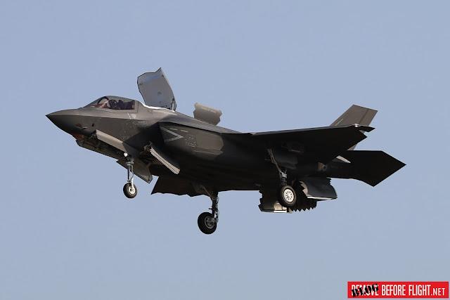 Second italian F-35B delivery