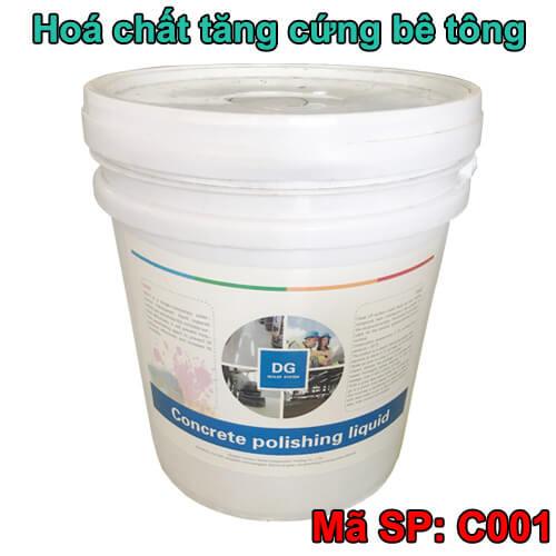 Hóa chất tăng cứng sàn bê tông DG C001