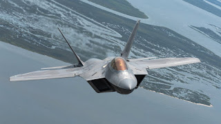 Jet Tempur F-22 AS
