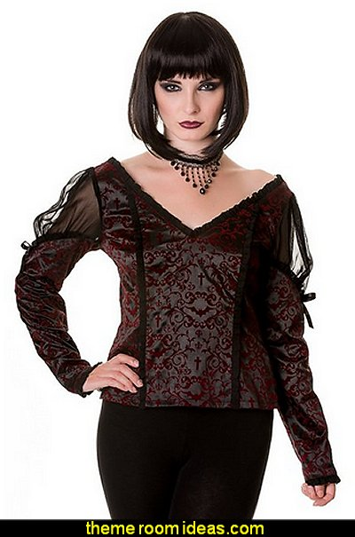 Banned Apparel Gothic Ivy Top