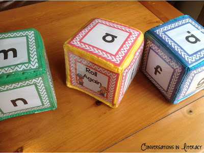 Using Differentiation Cubes to roll Words
