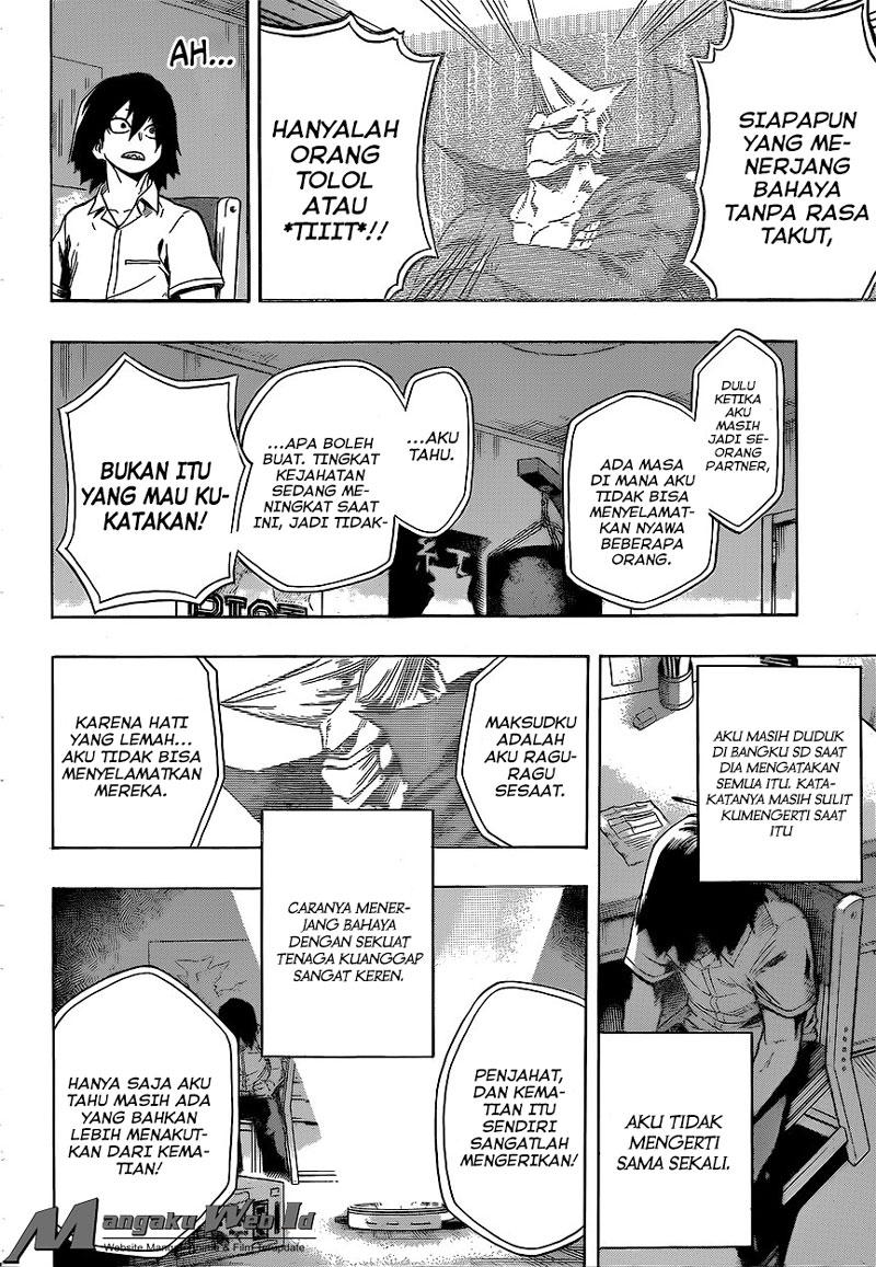Boku no Hero Academia Chapter 145-5