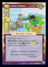 My Little Pony Critter Cuisine Premiere CCG Card