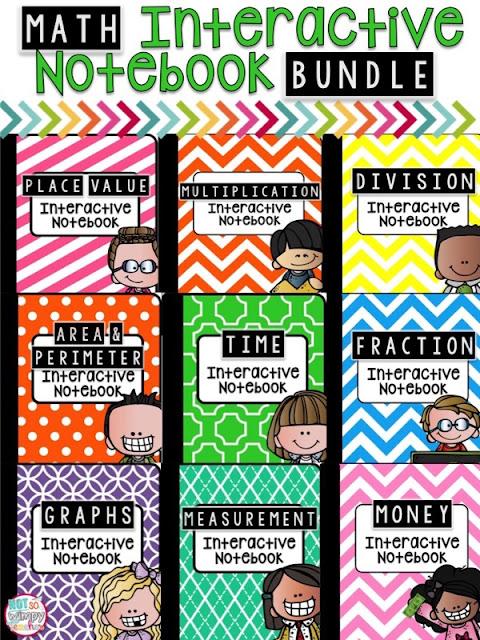 Free Interactive Math Notebook 3rd Grade Finally 5th