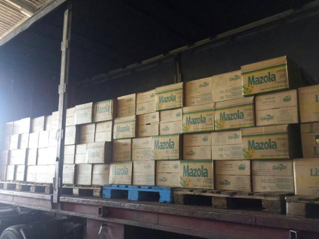 Polícia recupera carga de óleo avaliada em R$ 200 mil