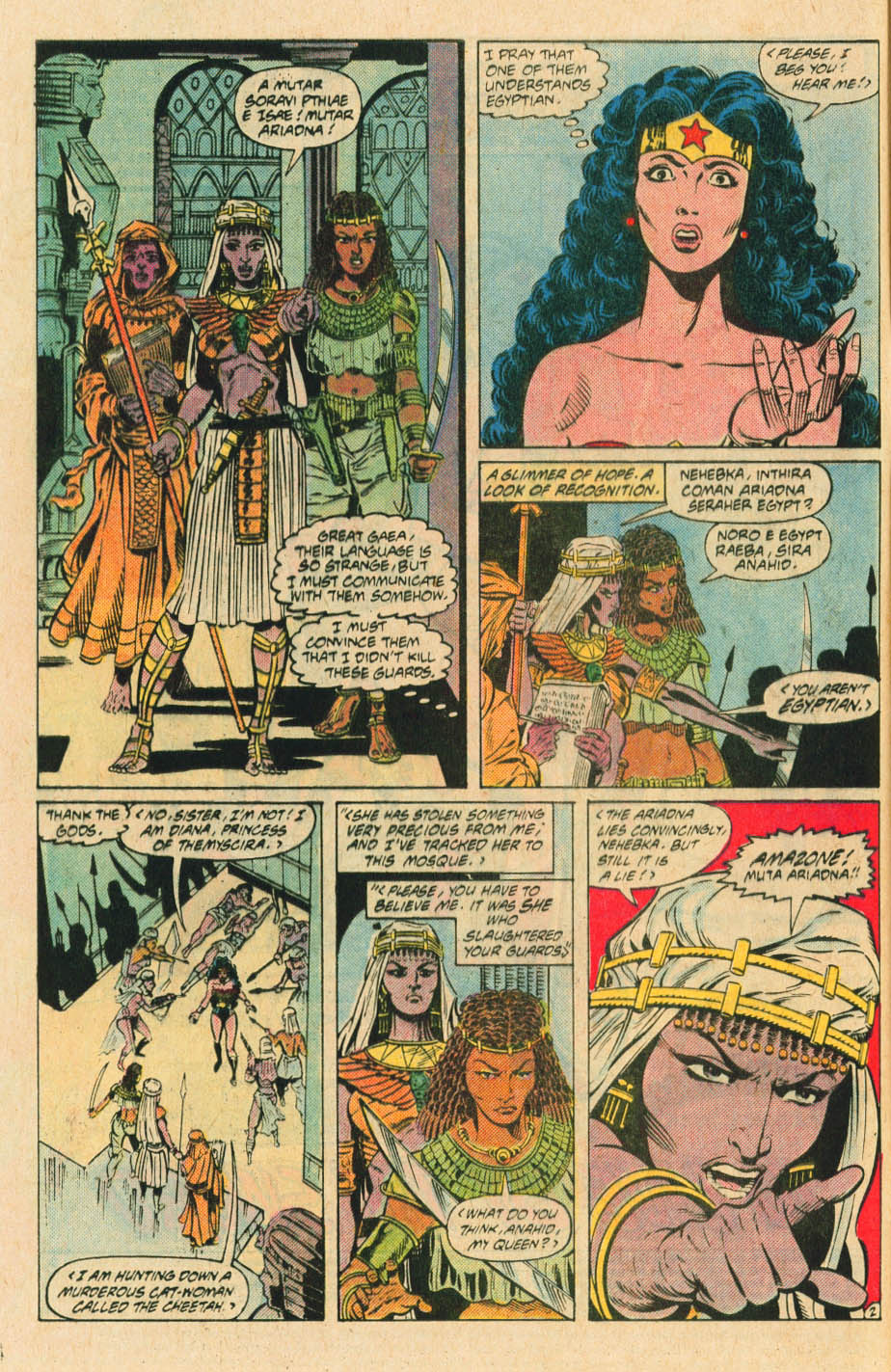 Read online Wonder Woman (1987) comic -  Issue #30 - 4