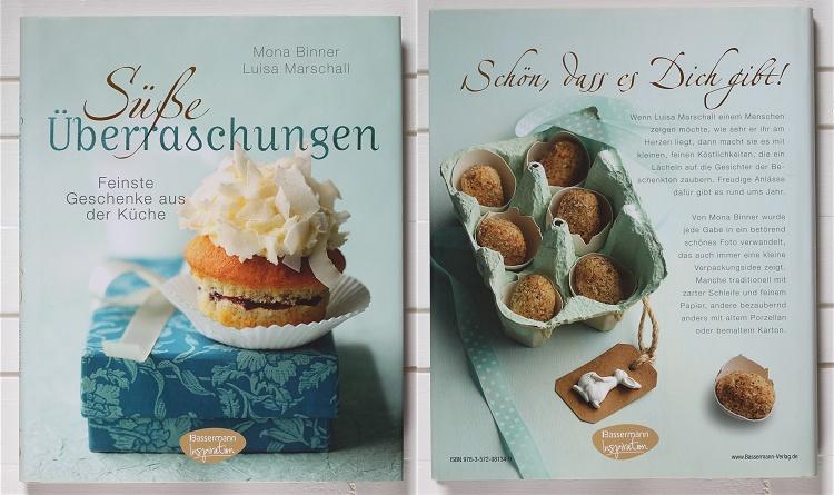 Rezension/Buchvorstellung Süße Überraschungen von Mona Binner und Luisa Marschall