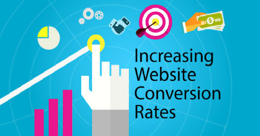 Top 5 methods for increasng website conversion rates