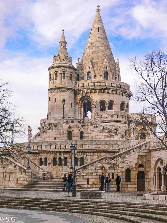 Bastion de los pescadores. Budapest