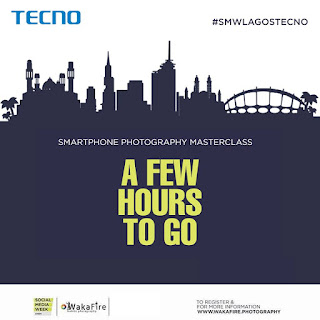 Join Tecno Mobile & Wakafire Smartphone Photography Masterclass By 1:30pm Today (Live Stream)