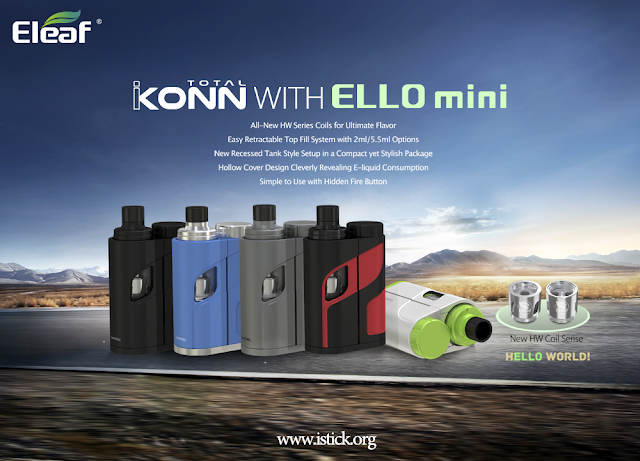 Eleaf New Products Launched