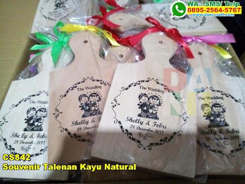 Jual Souvenir Talenan Kayu Natural