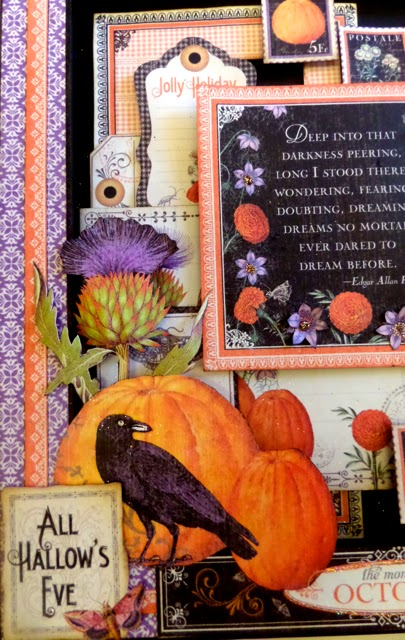 Time to Flourish Altered Frame 3 Clare Charvill Candy Box Crafts Graphic 45