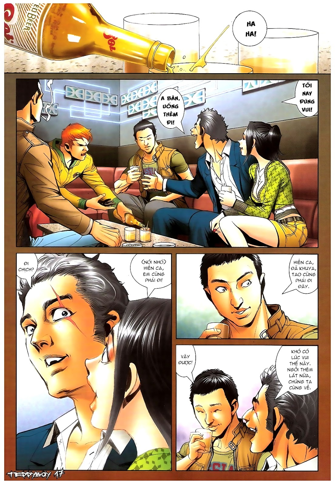 Người Trong Giang Hồ - Chapter 1379: Oan gia gặp nhau - Pic 15