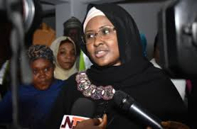 Why Aisha Buahari hides and not coming out to tell Nigerians they should vote for her husband?
