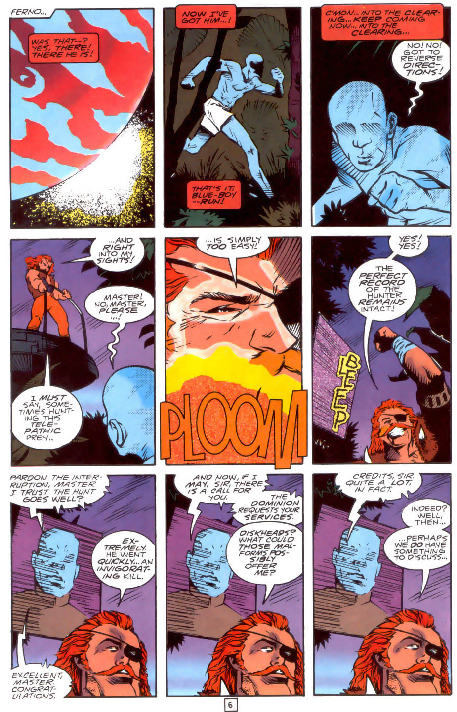 Legion of Super-Heroes (1989) 33 Page 6