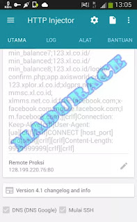 Squid Proxy dan Port Operator XL, Axis, Indosat, Telkomsel, Smart, dan Kartu Three