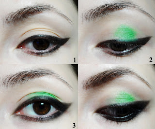 grunge smoky eyes tutorial